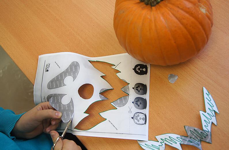 Halloween 2012 in der Ergotherapie